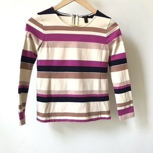 J.Crew Striped Shirt Size XXS